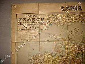 [Carte de] France départements.