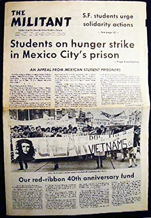 The Militant Vol. 33 No. 1 Friday, January 3, 1969: Americana - 20th Century - Political History - ...