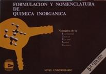 FORMULACION Y NOMNCLATURA DE QUIMICA INORGANICA: VARIOS AUTORES