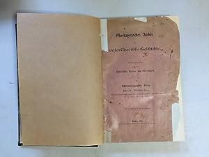 Oberbayerisches Archiv für vaterländische Geschichte - Achtundzwanzigster Band (Zweites Schluß-Heft...