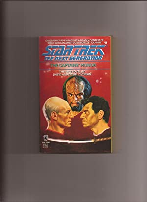 Star Trek The Next Generation # 8: The Captains' Honor