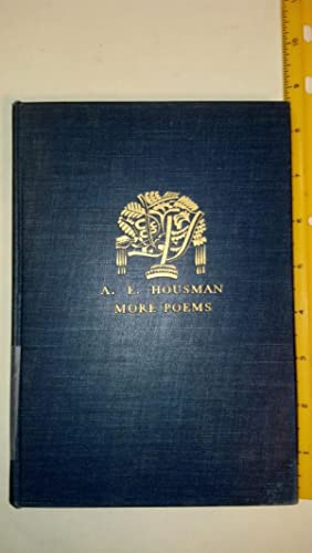 More Poems: Housman, A. E.