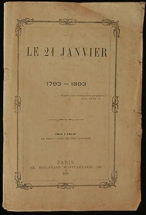 LE 21 JANVIER ( 1793- 1893 ): CHARETTE Général de