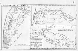Senegal Africa Afrika Map Vaugondy
