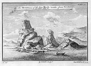 China Shaw-chew-fu Mountains Asia engraving Kupferstich map