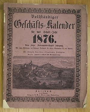Vollständiger Geschäfts Kalender Sulzbach Schaltjahr