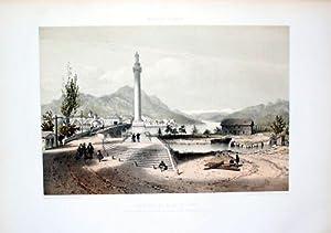 - Bonneville Haute-Savoie Rhône-Alpes Lithographie