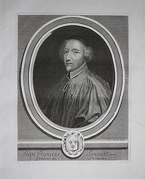 Jean Francois Senault Philosoph Frankreich France Kuperstich Portrait