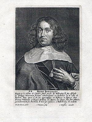 Hendrick Berckmann Holland painter Baroque Maler Kupferstich gravure