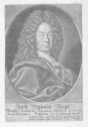 Jobst Wilhelm Vogel Nürnberg Portrait Aquatinta