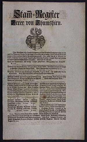 Thumshirn Tangeln Beetzendorf Ahnentafel Stammbaum Genealogie family tree