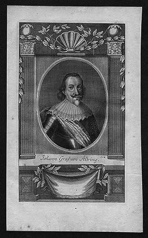Johann von Altring von Dietenhofen engraving Kupferstich Portrait
