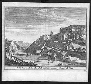 Toledo grabado engraving Kupferstich