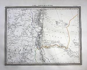 - Russia Kamyshin Volgograd Dubovka map Vandermaelen engraving