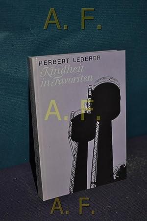 Kindheit in Favoriten.: Lederer, Herbert: