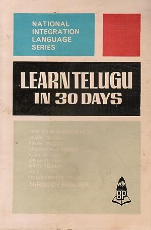 Learn Telugu in 30 Days: Srinivasachari, K