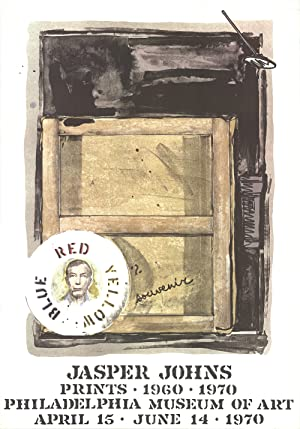 "JASPER JOHNS Souvenir 35.25"" x 23.5"" Poster: Johns, Jasper"