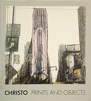 "Javacheff Christo Prints and Objects 1963-1987 : A Catalogue Raisonne 15"" x 12"" Book 1988 ..."