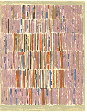 """ELLEPOL CESAR XXe Siecle no. 16 12.25"""" x 9.5"""" Lithograph 1961 Multicolor, Pink, Pastel: ..."""
