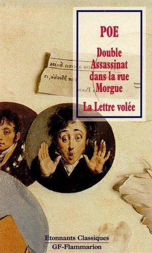 Double assassinat dans la rue Morgue: Poe, Edgar Allan;
