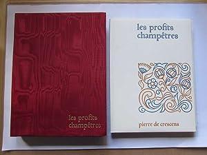 Les profits champetres: Crescens, Pierre de: