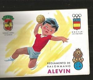 REGLAMENTO DE BALONMANO ALEVIN: VARIOS
