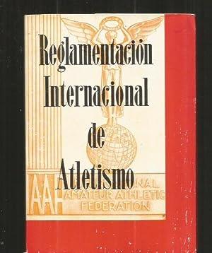 Imagen del vendedor de REGLAMENTACION INTERNACIONAL DE ATLETISMO a la venta por Desván del Libro / Desvan del Libro, SL