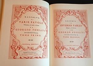 Raccolta di varie Favole Illustrate da Giorgio FOSSATI di Morcote. Facsimile dell'edizione ...