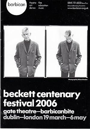 Beckett Centenary Festival 2006: Beckett, Samuel