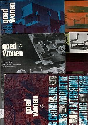 1967, No's 1, 2, 3, 4, 11.: Goed Wonen.