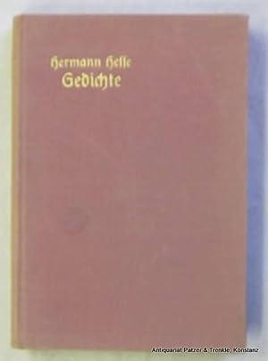 Gedichte. 7. Tsd. Berlin, Grote, 1914. 4: Hesse, Hermann.