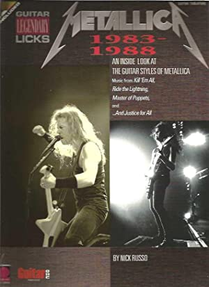 Metallic 1983-1988: An Inside Look at the Guitar Styles of Metallica