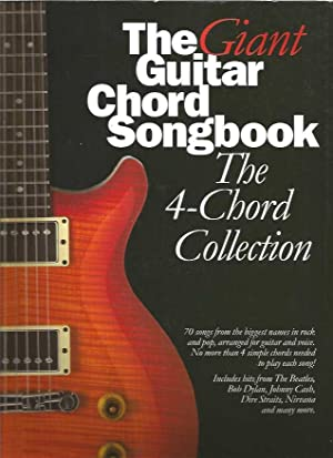 Giant Guitar Chord Songbook The 4-Chord Collection Lc, The