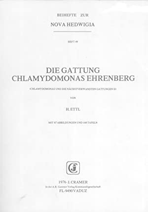 Die Gattung Chlamydomonas Ehrenberg (Chlamydomonas und Nächstverwandten: Ettl, Hanus