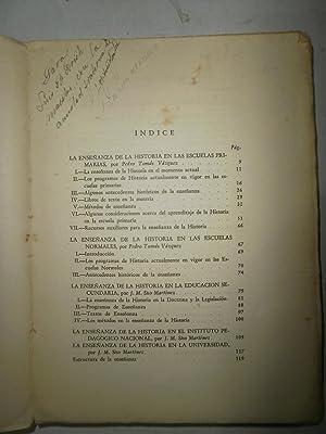 La enseñanza de la historia en Venezuela: VAZQUES, Pedro Tomás;