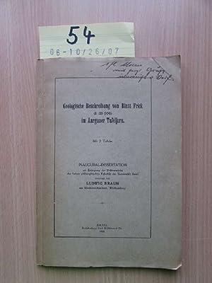 Geologische Beschreibung von Blatt Frick (1:25 000) im Aargauer Tafeljura/ Der Tafeljura zwischen ...