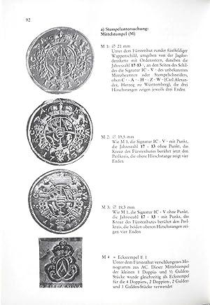 Die Württembergischen Münzen von 1693-1797. Ein Typen-, Varianten- und Probenkatalog: Herausgegeben...