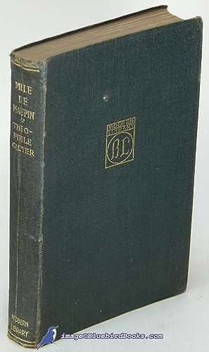 Mademoiselle de Maupin (Modern Library #53.1; limp leatherette spine #2): GAUTIER, Theophilé