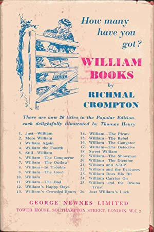William Does His Bit: Richmal Crompton