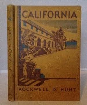California A Little History of a Big: Hunt, Rockwell D.