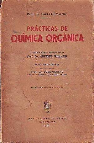 PRACTICAS DE QUIMICA ORGANICA.: GATTERMANN L.