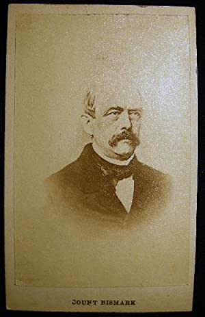 Carte-de-Visite Photograph of Otto Eduard Leopold Count Von Bismarck: Photography - 19th Century - ...