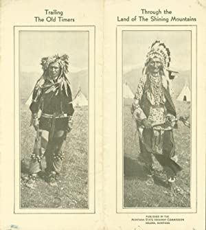 Trailing the Old Timers through the Land: Fletcher, Bob; illustrated