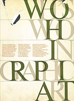 Who's Who in Graphic Art.: Amstutz, Walter (Ed.):