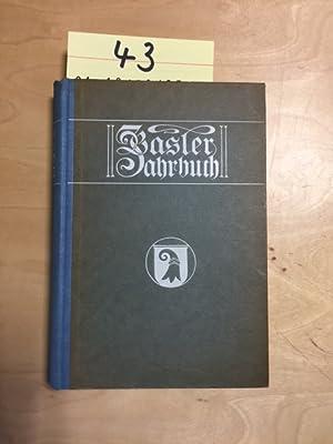 Basler Jahrbuch 1930 (50. Band): Huber, August und Ernst Jenny:
