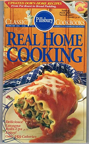 PILLSBURY CLASSIC COOKBOOKS No. 120, REAL HOME COOKING, February 1991.