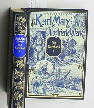 """Old Surehand, zwei (2) Bände""""Reiseerlebnisse, Mit den: May, Karl"""