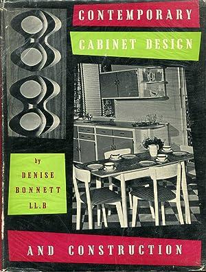 Contemporary Cabinet Design and Construction: Bonnett, Denise