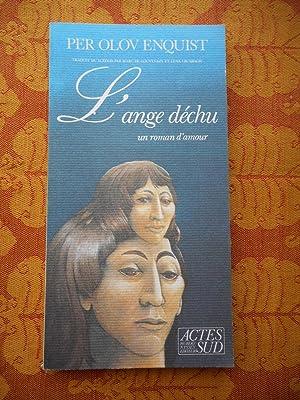 Imagen del vendedor de L'ange dechu - Un roman d'amour a la venta por Frederic Delbos