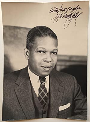 Inscribed Photograph as Manhattan Borough President